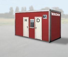 WC-Container mieten & vermieten - Sanitärcontainer in Haltern am See