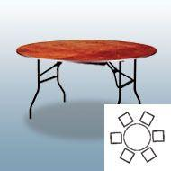 Tische mieten & vermieten - Bankett-Tisch 122cm in Frankfurt am Main