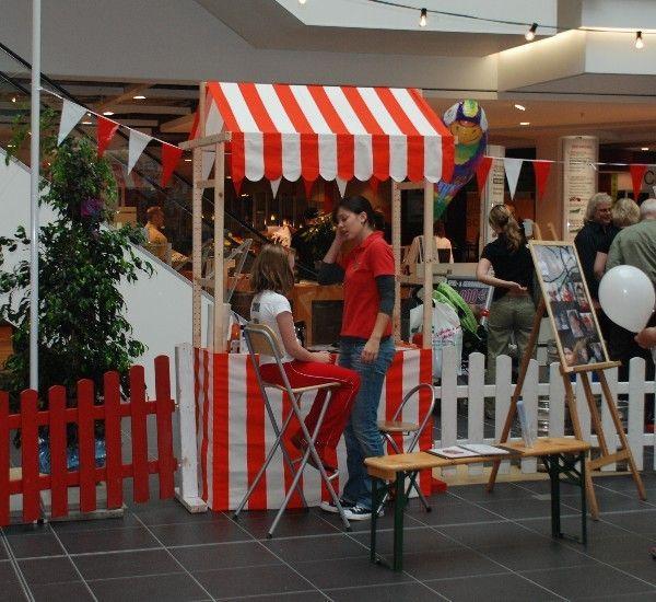 Verkaufsstand mieten & vermieten - Jahrmarkstdekoration /  Marktbude nostalgisch in Münnerstadt