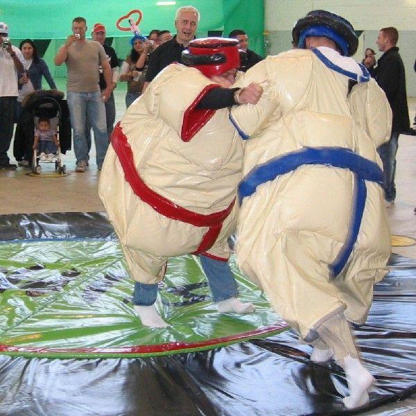 Sumo-Ringen mieten & vermieten - Sumoringen - Sumowrestling in Münnerstadt