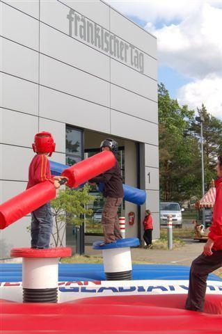 Großspielgeräte mieten & vermieten - American Gladiator - Gladiator Games inkl. 19% MwSt. in Münnerstadt