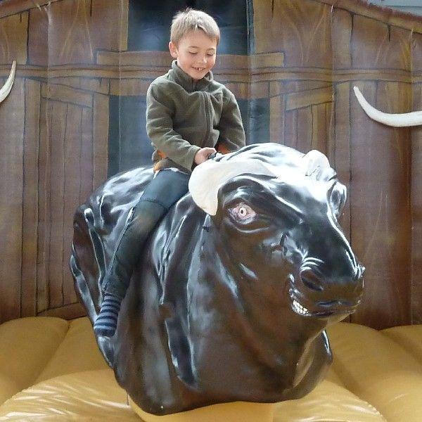 Bullriding mieten & vermieten - Bullriding deluxe - das exklusive American Western Rodeo, inkl. 19% MwSt. in Münnerstadt