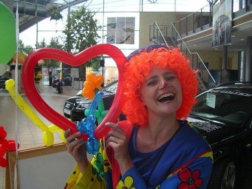 Ballonkünstler mieten & vermieten - Luftballonclown / Ballonmodellage / Ballonclow in Münnerstadt