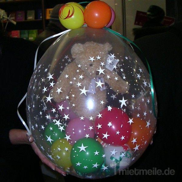 Ballons mieten & vermieten - Weihnachtsverpackungsaktion / Verpackungsballons / Ballonverpackung inkl. 19% MwSt. in Münnerstadt