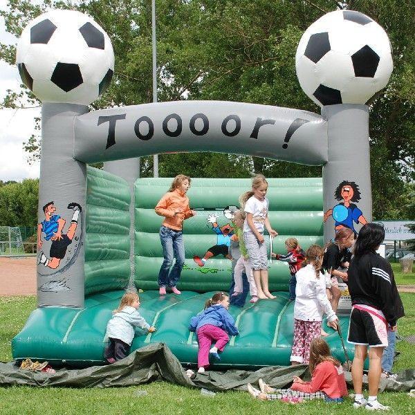 Hüpfburg mieten & vermieten - Hüpfburg Fußball inkl. 19% MwSt. in Münnerstadt