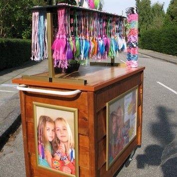 Basteln & Malen mieten & vermieten - Hair Wraps - Haarsträhnchen inkl. 19% MwSt. in Münnerstadt