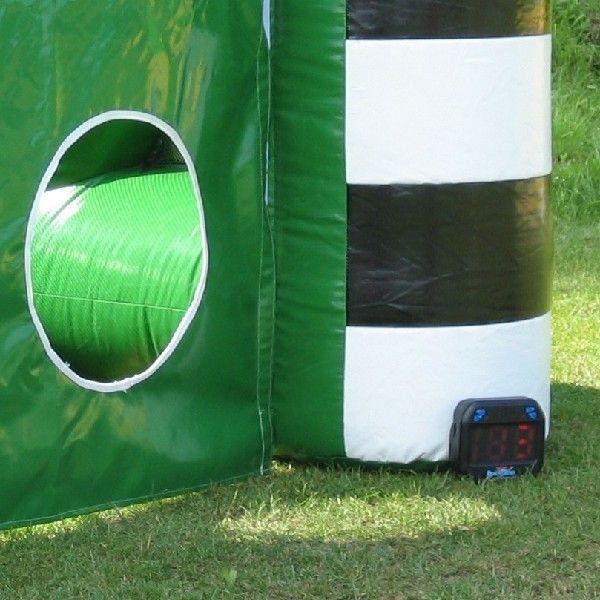 Torwand mieten & vermieten - aufblasbare Fußballtorwand / aufblasbares Fußballtor inkl. 19% MwSt. in Münnerstadt