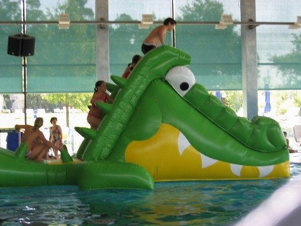 Wasserspiele mieten & vermieten - Schnappi - das große Krokodil, Wasserspielgerät, inkl. 19% MwSt in Münnerstadt