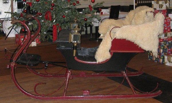 Antik & Rustikal mieten & vermieten - historischer Pferdeschlitten, ca. 100 Jahre inkl. 19% MwSt. in Münnerstadt