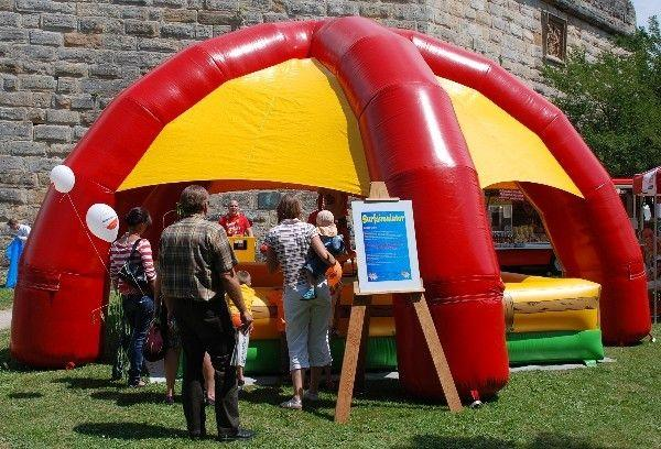 Partyzelte mieten & vermieten - aufblasbares Zelt, Party Dome in Münnerstadt