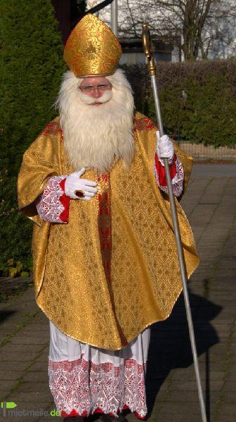 Weihnachtsmann mieten & vermieten - Nikolaus (im edlen Bischofsornat), Kein Weihnachtsmann (Raum Paderborn / Gütersloh / Bielefeld) in Hövelhof