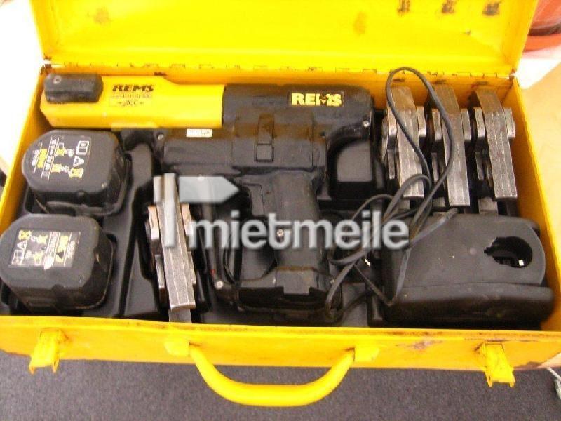 Werkzeuge & Geräte mieten & vermieten - Akkupresszange REMS für verschiedene Durchmesser in Hamburg