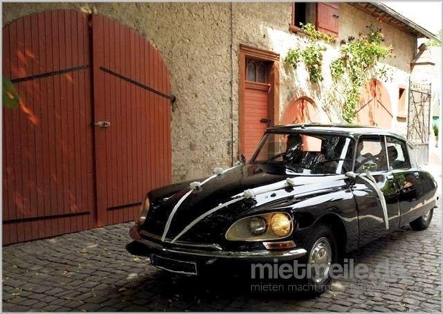 Hochzeitsauto mieten & vermieten - Citroen DS - die Göttin in Worms