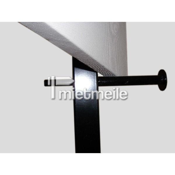 Präsentationsmöbel mieten & vermieten - Metallstaffelei EXHIBIT Staffelei Stahl schwarz in Berlin