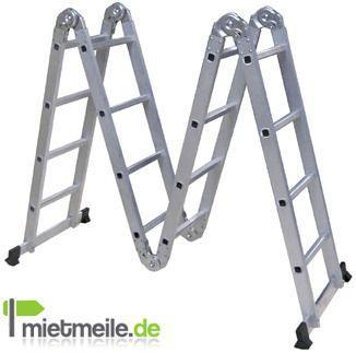 Leiter mieten & vermieten - Vielzweck-Leiter 4 x 4 Sprossen in München