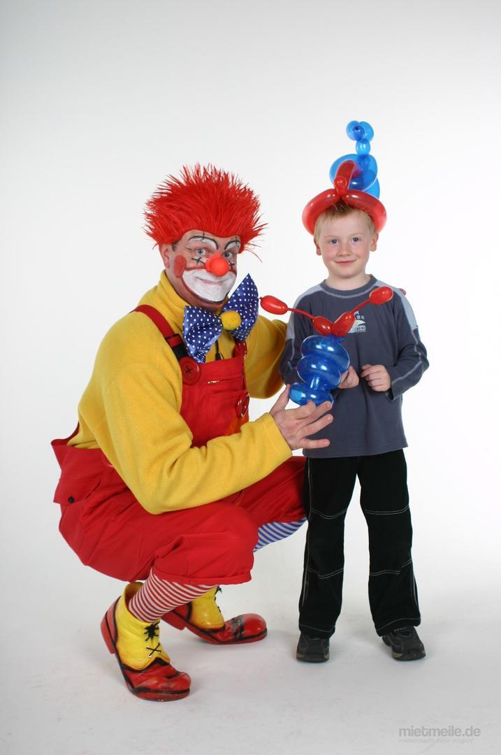 Clown mieten & vermieten - Clown-Zauberer-Bobby in Odelzhausen