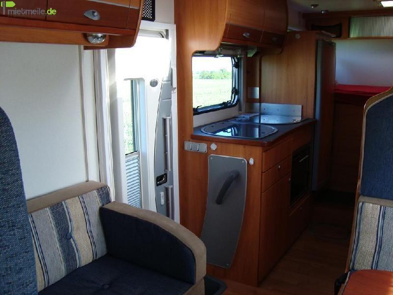 Wohnmobile mieten & vermieten - Luxus Wohnmobil Caravan bis 4 Personen Sat/Tv Klima Tempomat Festbett  in Barbing