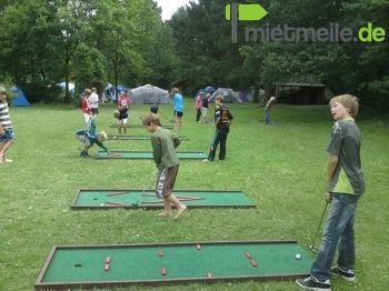 Minigolf mieten & vermieten - Mobile Mini Golf Anlage in Vechta