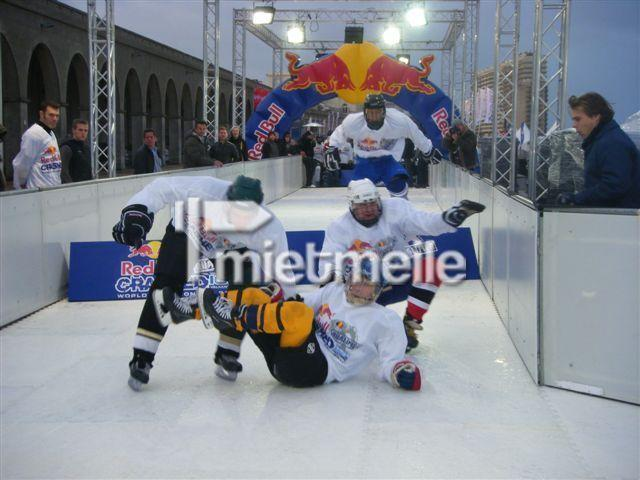 Großspielgeräte mieten & vermieten - Eislaufbahn 100 qm, Schlittschuhbahn, Kunststoffeisbahn, Eisbahn mieten in Neukirchen-Vluyn