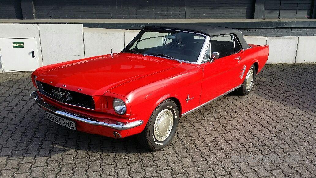 Oldtimer mieten & vermieten - Ford Mustang Cabrio - ein Oldtimer Traum in Hannover