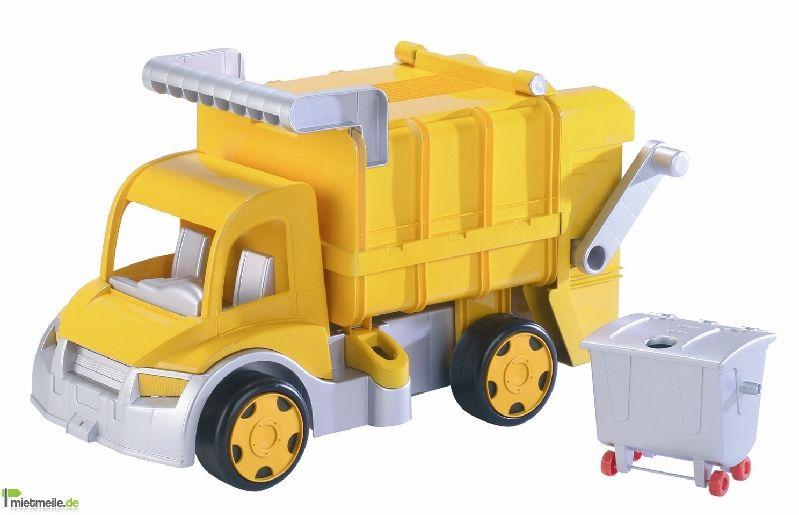 Spielmobil mieten & vermieten - XXL-Kinderspielzeuglaster (Mülllaster) in Chemnitz