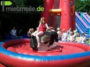 Bullriding mieten & vermieten - Bullenreiten - Bullriding in Herdecke
