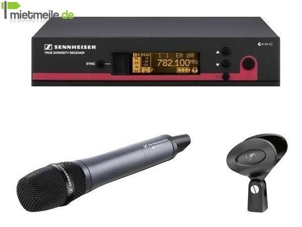 Funkgeräte mieten & vermieten - Funkmikrofon SENNHEISER EW100-965G3 in Hamburg Billbrook