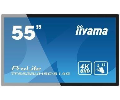 """LCD Monitore mieten & vermieten - Touchscreen Iiyama ProLite 4K 55"""" Kapazitiv in Hamburg"""