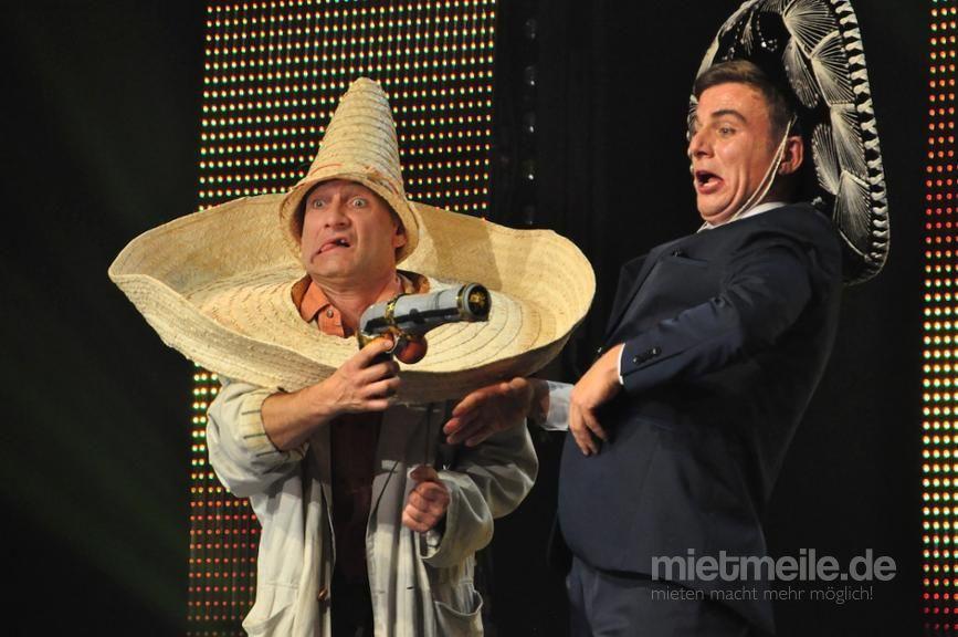 Comedian mieten & vermieten - Comedy Akrobatik mit Tébé & Leiste in Köln