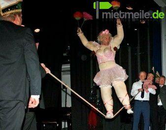 Comedian mieten & vermieten - Comedy Akrobatik mit Georg Leiste in Köln