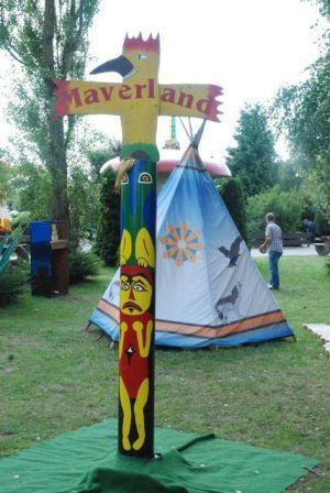 Basteln & Malen mieten & vermieten - Indianerdorf für Kinder - Maverland in Burscheid