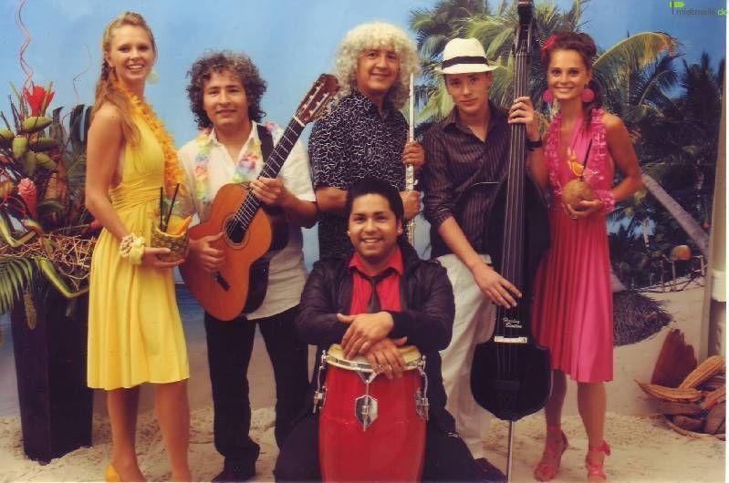 Bands mieten & vermieten - LA FIESTA -  Musik aus Südamerika in Köln