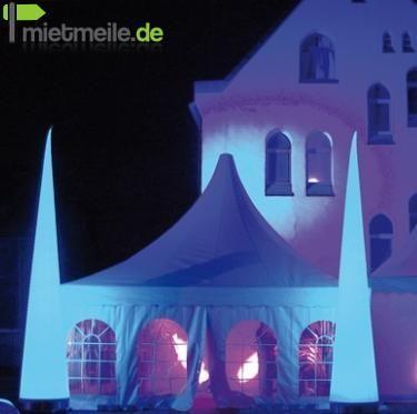 Aufblasbare Dekoration mieten & vermieten - Aircones mit LED 5m   ***div. Größen*** ANGEBOT  in Rastatt