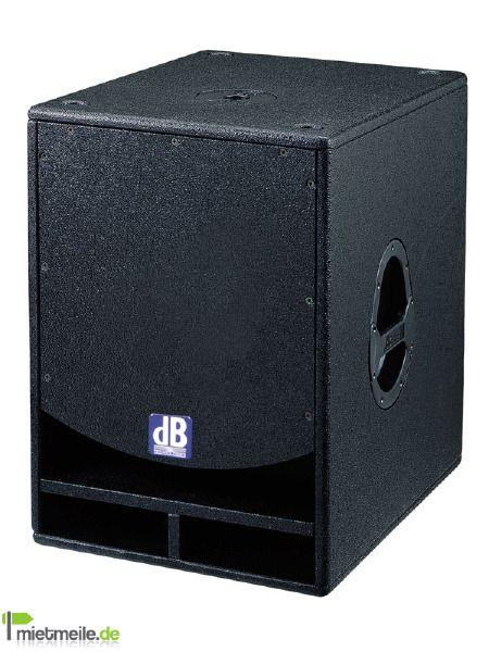 Musikanlage mieten & vermieten - dB Technologies Club EX System / 2,2 kW RMS / SET in Rastatt