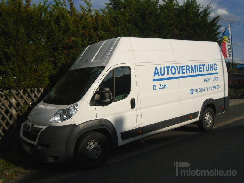 Transporter mieten & vermieten - Citroen Jumper in Pößneck