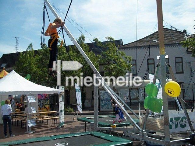 Bungee mieten & vermieten - 4er Bungee Trampolin / Trampolinanlage / High Jump in Neukirchen-Vluyn