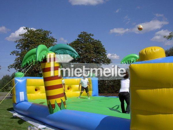 Großspielgeräte mieten & vermieten - Beachvolleyball Arena, Fun Arena in Neukirchen-Vluyn