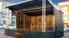 Mobile Veranstaltungsbühne STAGEMOBIL 45