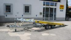 KFZ Transporter/Transportanhänger 4,20m ankippbar
