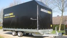 Planenanhänger Pritsche 5m 2.700kg