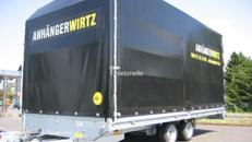 Planenanhänger Pritsche 5m 3.500kg