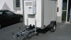 Kühlkoffer 2,40m +2°C / 220Volt, abschließbar