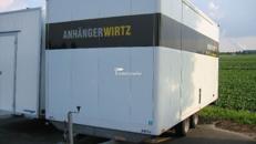 Kofferanhänger Pritsche 5m