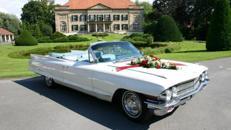 Cadillac Heckflossen Cabriolet, 1962 weiß