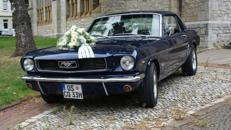 Ford Mustang V8 Coupe´, 1966, dunkelblau
