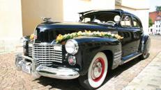 Cadillac Touring Sedan V8, 1941, schwarz