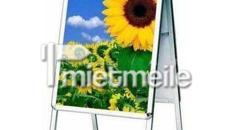 Kundenstopper Plakatständer Werbetafel Aluminum