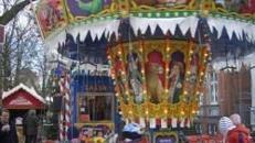 Karussell für Weihnachtsmarkt oder Weihnachtsfeier
