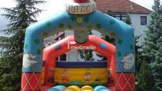 Große Hüpfburg Clown