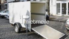 Koffer- / Motorradanhänger mit Auffahrrampe ab Berlin-Mitte
